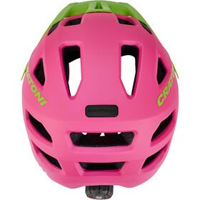 Cratoni Maxster Pro Helmet Kinder pink-lime matt